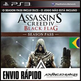Season Pass Ac Black Flag - Nao Inclui O Jogo - Ps3 Psn Dlc