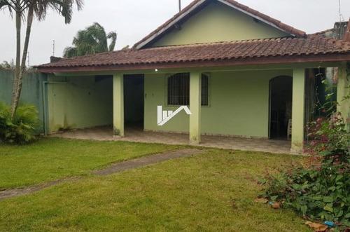 Imagem 1 de 11 de Casa A Apenas 900 Metros Do Mar Em Itanhaém Ca160-f