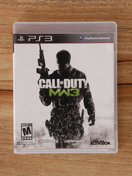 Jogo Ps3 Call Of Duty Modern Warfare 3 Mídia Física