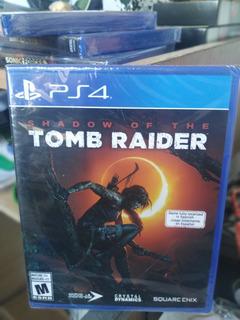 Shadow Of The Tom Raider Para Ps4 Nuevo Físico Y Sellado Off