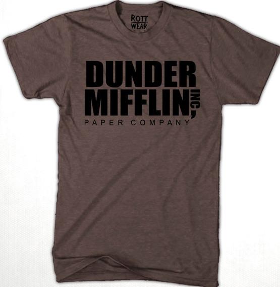 Dunder Mifflin The Office Playera C Rott Wear Envío Gratis