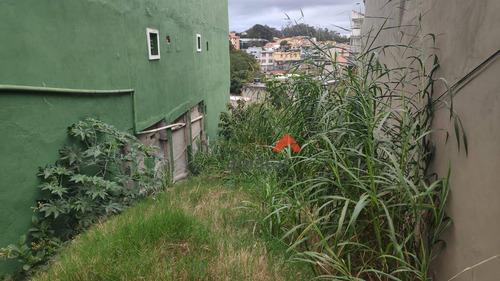 Imagem 1 de 1 de Terreno À Venda, 213 M² Por R$ 268.000,00 - Jardim Santa Rosa - Taboão Da Serra/sp - Te0064
