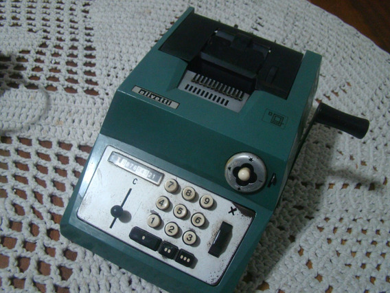 Antiga Calculadora Olivetti Summa Prima 20 , Conf Descrição