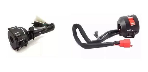 Par (2 Peças) Punho Interruptor Dir Esq Honda Cbx 200 Strada