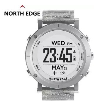 Relógio North Edge Range Gps, Bluetooth, Profundímetro, Altímetro, Baromêtro, Bússola, Corrida, Ciclismo, Natação...