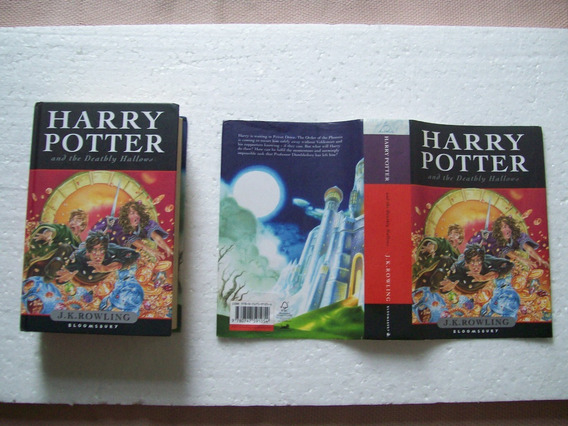 Livro Harry Potter And The Deathly Hallows - Bloomsbury