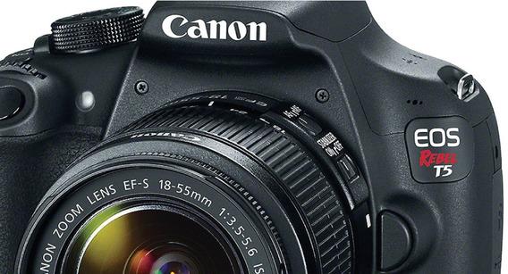 Câm. Canon Rebel T5 C/ Lente 18-55mm Vai Na Caixa Dela