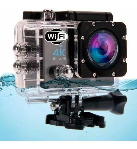 Câmera Sports Ultra Hd 4k Dv 30m Wi-fi Envio Imediato
