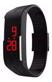 30 Relógio Pulseira Digital Led Academia, Corrida,esporte