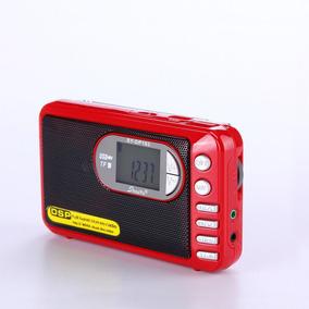 Rádio Receptor Shouyu Dp-182 Mp3 Player Am/fm/sw Dsp