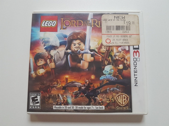 Lego The Lord Of The Rings Original Para Nintendo 3ds