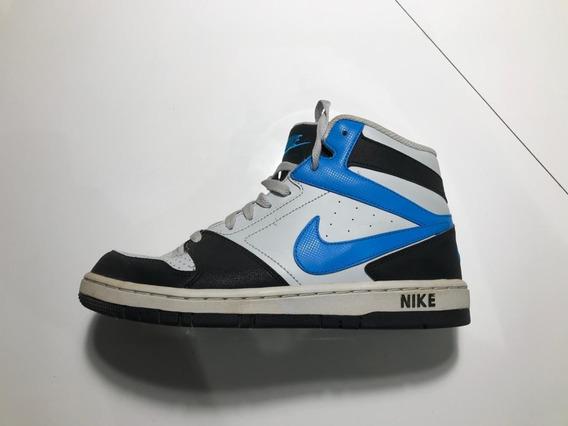 Tênis Nike Cano Longo Azul E Branco - A Culpa É Das Estrelas