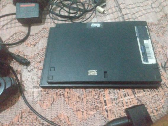 Playstation 2 Com Defeito Mas Todos Os Cabos E Um Controle