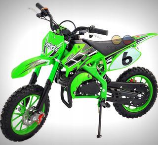 Mini Moto 49cc Gasolina Motor 2 Tiempos 40 Km Velocidad 90kg