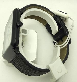 Reloj De Hombre,formato Cuadrado,blanco Y Negro By Orbital.