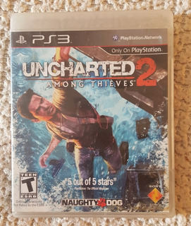 Uncharted 2 Among Thieves Playstation 3