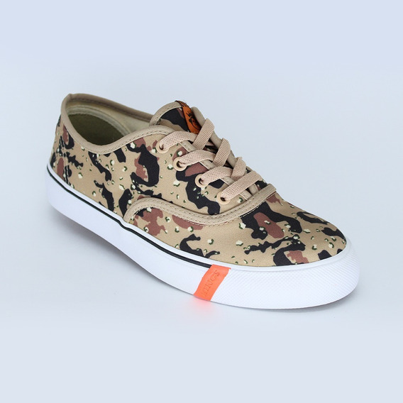 Tênis Kings Sneakers Oxford 3005 Camuflado