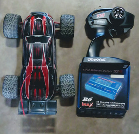 Rc Car E Revo Traxxas + 2 Baterias + Carregador Digital