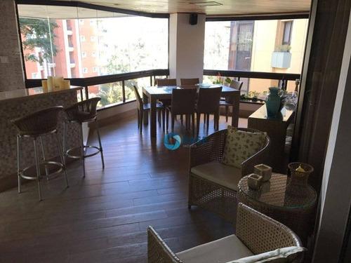 Apartamento Com 3 Dormitórios, 293 M² - Venda Por R$ 1.915.000,00 Ou Aluguel Por R$ 8.000,00 - Panamby - São Paulo/sp - Ap7897
