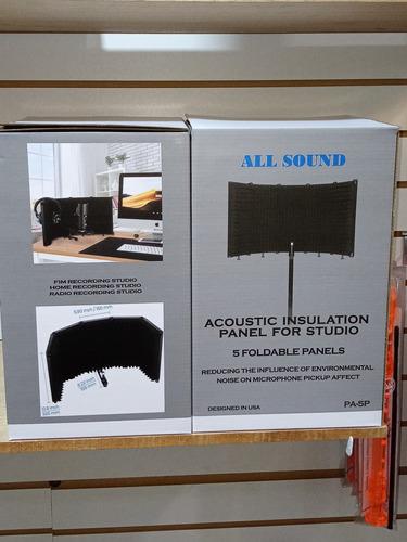 Panel Acustico De Metal, 5 Cuerpos Marca All Sound