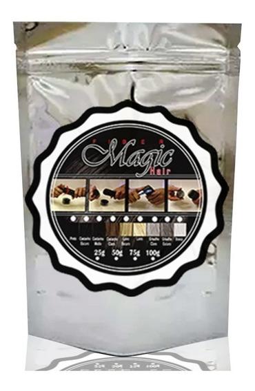 Master Bag Magic Hair 25g Queratina Fibers A Melhor Fibra
