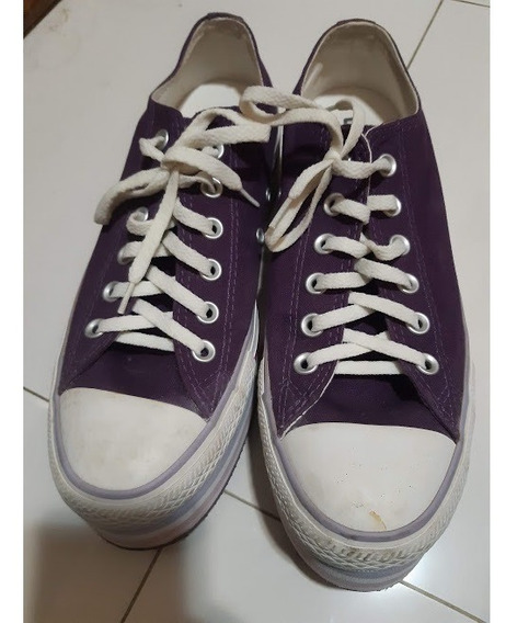 All Star Roxo Plataforma