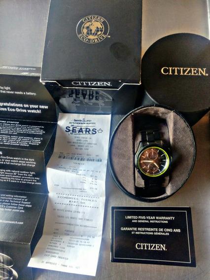 Citizen Eco Drive Wr100 Nuevo, 5 Años Garantia