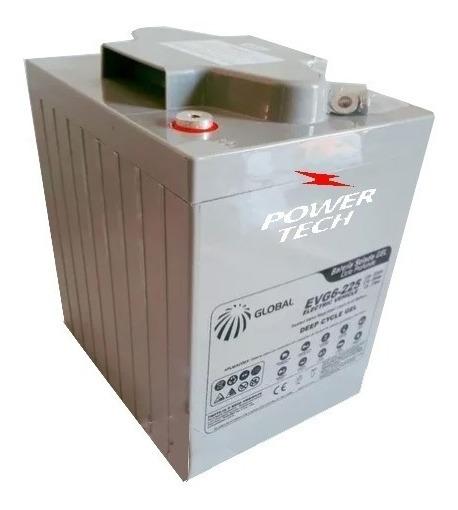 Bateria Tracionária 6v - 225ah - Evg6-225 Veiculos Elétricos