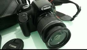 Câmera Canon Eos Rebel T3 + Bolsa + Cartão 4gb