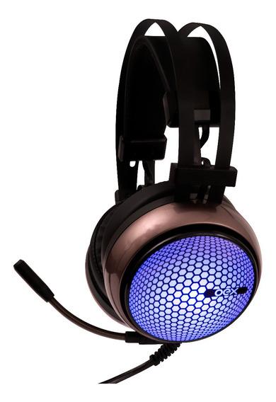 Fone Gamer Headset Hive 7.1 Usb Hs405 Preto C/laranja Oex