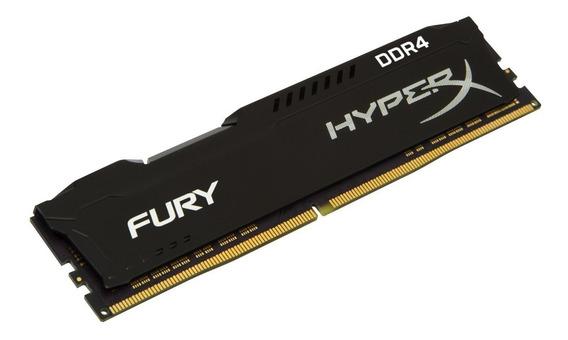 Memória Ddr4 8gb 2400mhz Kingston Hyperx Fury Pc Gamer