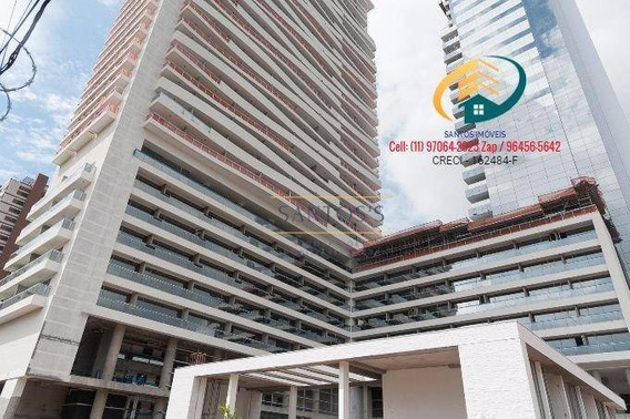 Apartamento Com 1 Dormitório À Venda, 50 M² Por R$ 700.000,00 - Vila Cruzeiro - São Paulo/sp - Ap0233