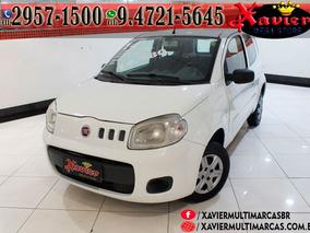 Fiat Uno Vivace 1.0 Branco 2014 Financiamento Próprio 1482