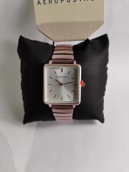 Reloj De Marca Aeropostale Para Mujer Rosa Analogico Origin