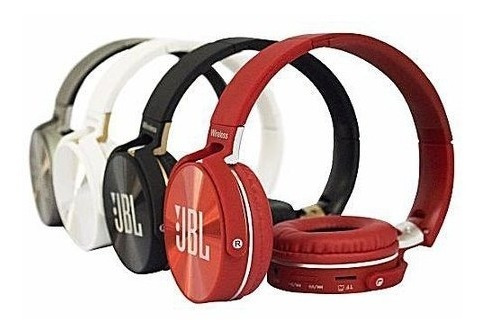 Fone Ouvido Bluetooth C/ Microfone Radio Fm Sd Mp3 Aux Jb950