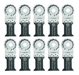 Fein 63502160290 Bimetal Oscillating Blade 10 Pack 138 X 2