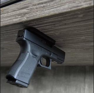 Soporte Oculto Glock 25 17 19 22 23 Etc Acceso Rápido Iman