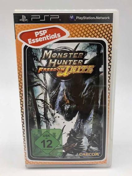 Monster Hunter Freedom Unite Sony Psp Original Completo