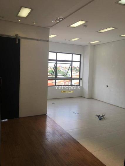 Sala À Venda, 34 M² Por R$ 290.000 - Santa Paula - São Caetano Do Sul/sp - Sa0412