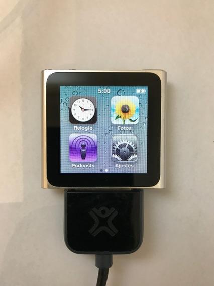 iPod Nano 6 Geração 16gb Original Apple Prata (sem Bateria)