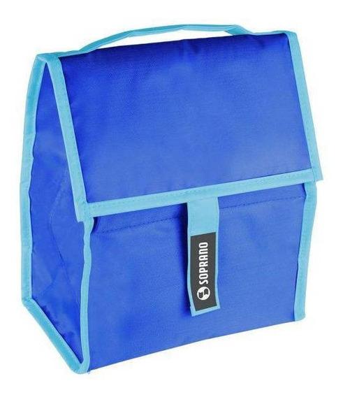 Cooler Soprano Com Gel 5l - Azul