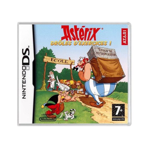 Asterix Drole Dexercices Ds Mídia Física Pronta Entrega