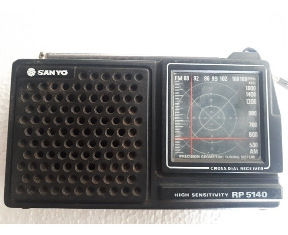 Radio Portatil Sanyo