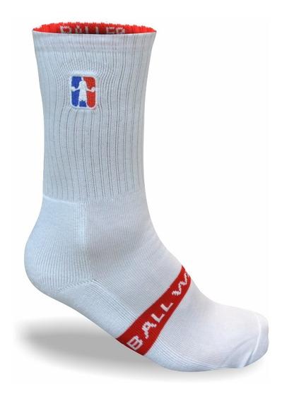 Medias Baller Brand American Blanco Basquet Basketball