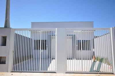 Casa Novinha - Recém Construída De 2 Dormitórios. - Ca1196