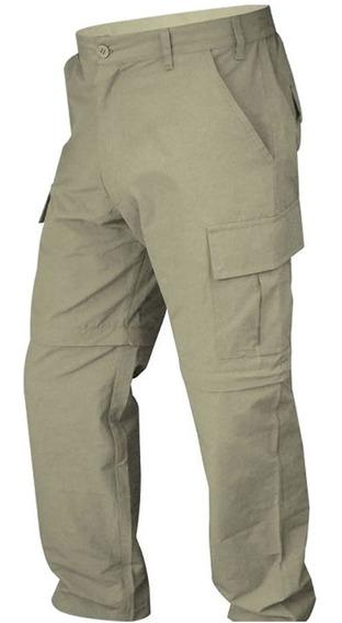 Pantalon Cargo Desmontable Secado Rapido Trekking