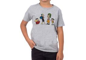 Camiseta Turma Do Chaves Infantil Unissex