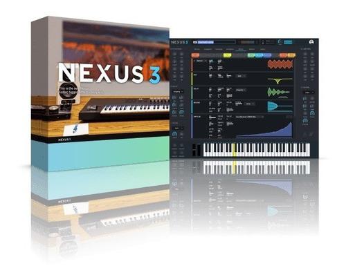 Refx Nexus 3 + Factory Library / Vst3-vst-au / Mac