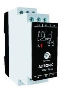 Rele Sequencia De Fase Rsf Altronic 220v Ca