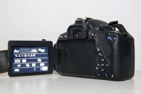 Câmera Dslr Canon Eos T5i 700d (corpo) + Bateria Extra